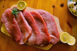 image of raw fresh meat