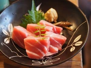 image of raw tunafish meat