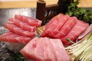image of raw fish meat