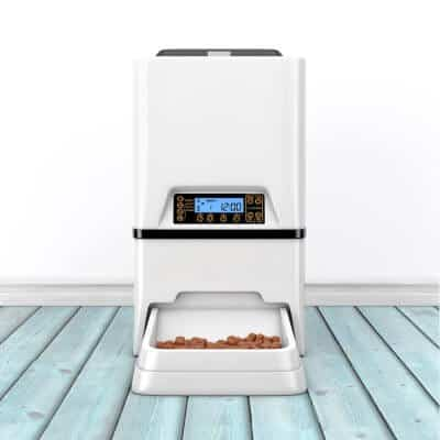 Automatic Electronic Digital Pet Dry Food Storage Meal Feeder